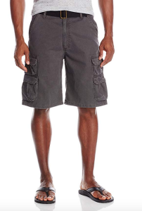Grey Cargo Shorts Wrangler Men's