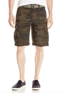 Camo Cargo Shorts Men's
