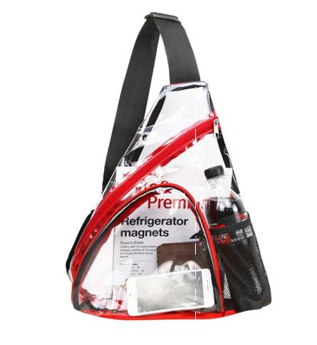 Clear PVC Shoulder Bag