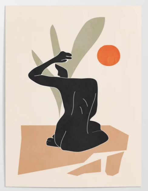 nude color poster
