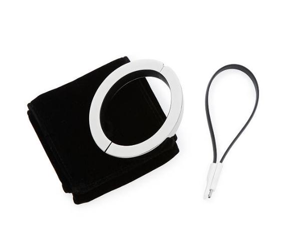 Portable phone charger bracelet