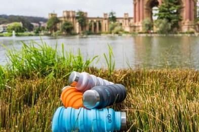 Que factory water bottles