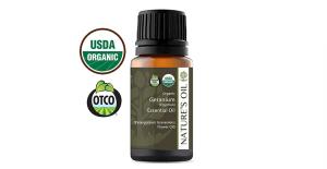 best essential oils scars geranium