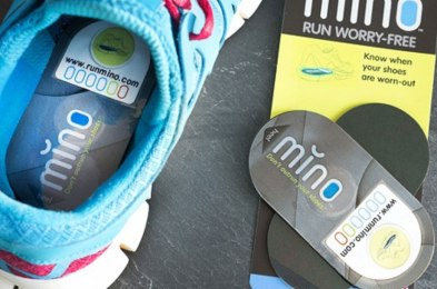 this tracker lets you know when it's time to replace your running shoes