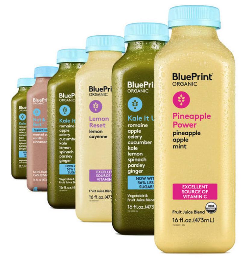 Juice Cleanse Pack BluePrint