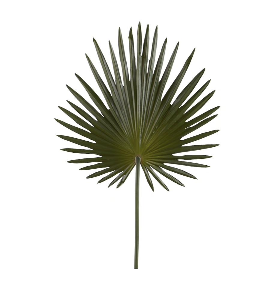 faux tropical plant