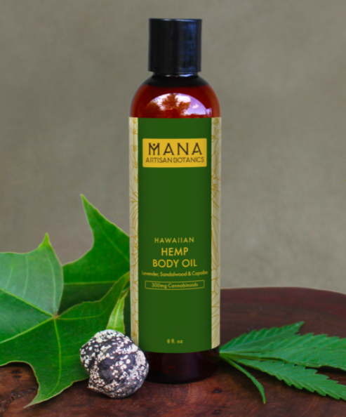 luxury hawaiian cbd body oil