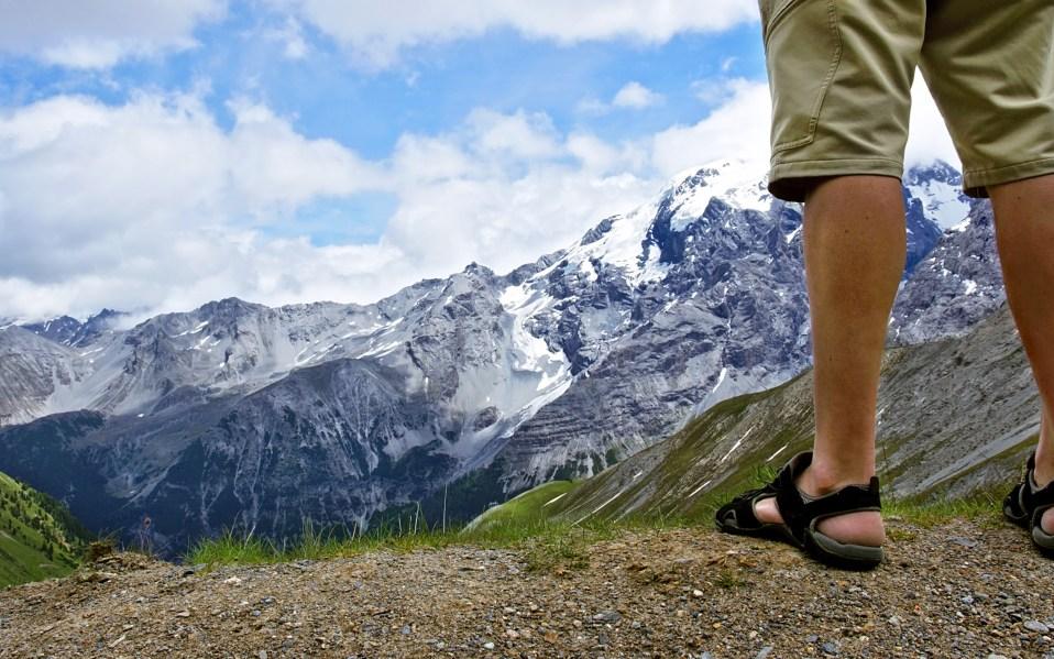 Men's Vegan summer sandals mountain