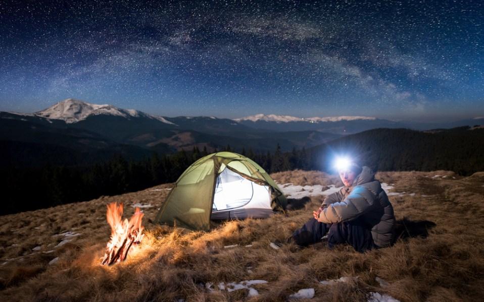 Black Diamond Camping headlamp