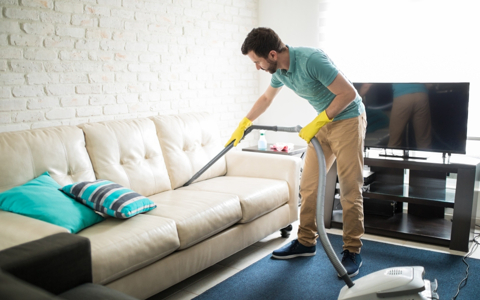 how to clean couch