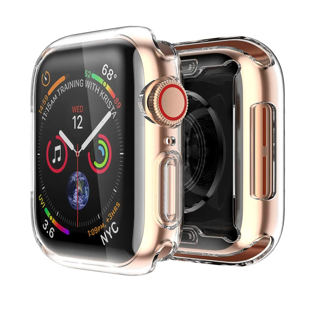 Smiling Apple Watch 4 Clear Case Amazon