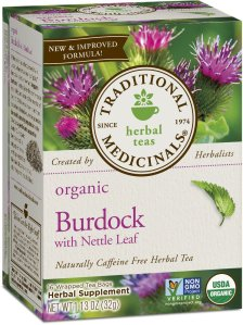 supplements for energy kidneys burdock tea
