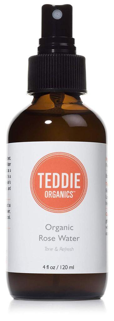 teddie organics organic alcohol free rose water
