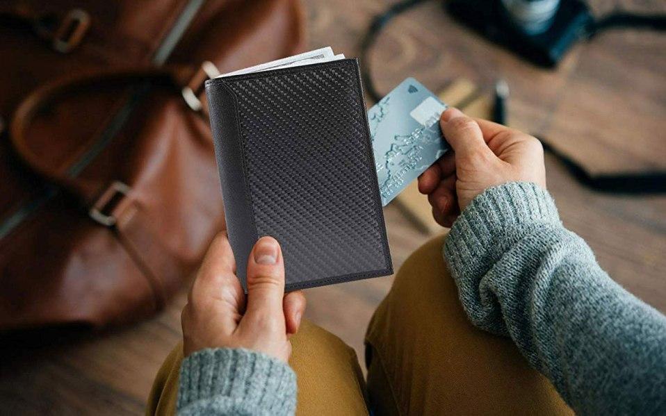 travel wallet passport holder Amazon