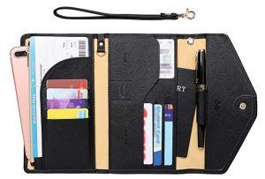 travel wallet passport holder Amazon zoppen