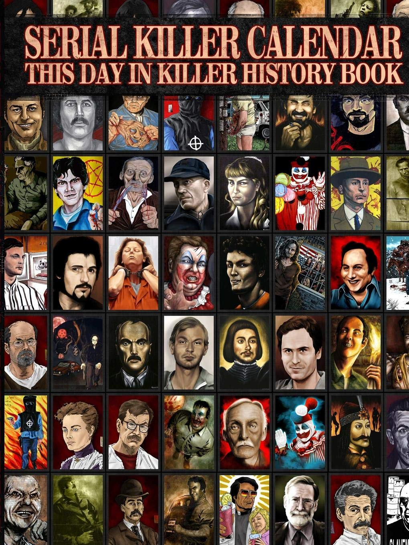 serial killer calendar book true crime