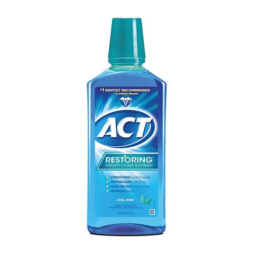 best mouthwash act restoring