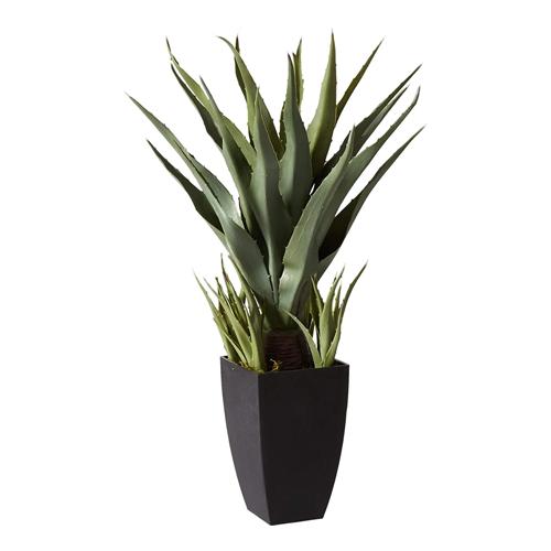 Large fake plant