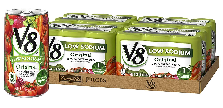 V8 Vegetable Juice, best hangover cures