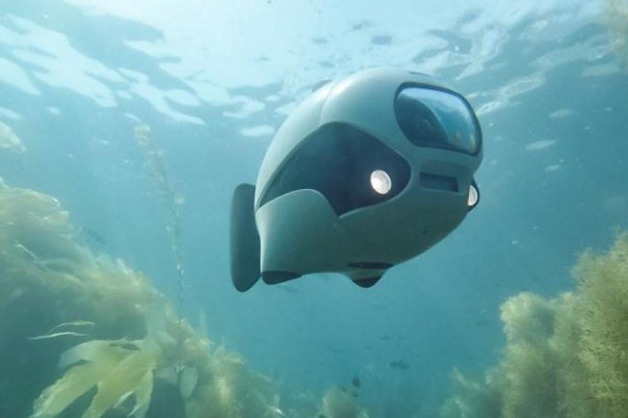 The BIKI Underwater Drone Will Take