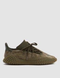 Green Sneakers Adidas Suede