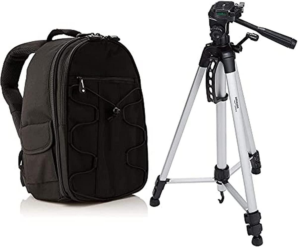 AmazonBasics Backpack for DSLR Cameras, best camera backpack