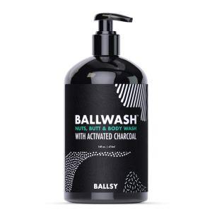 ball wash charcoal natural