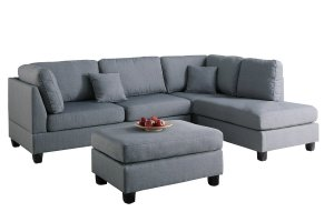 Sofa Sectional Poundex