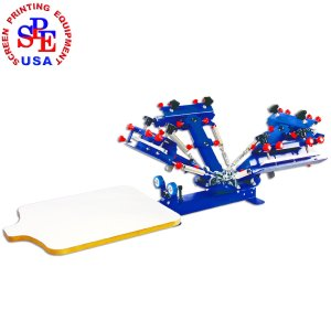 Screen Printing Machine 4 color