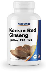 Korean Red Ginseng Nutricost