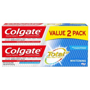 toothpaste 2 pack colgate