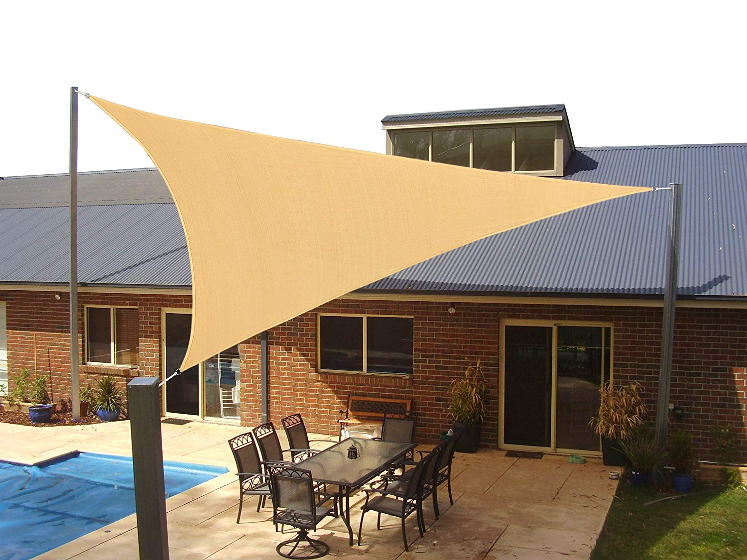 Sun Shade Sails Outdoor Covers For Memorial Day And July 4th Spy