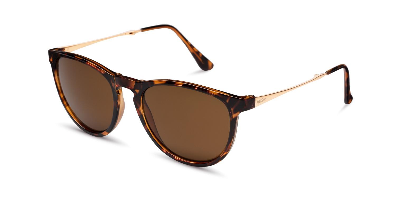 Hexton sloane tortoiseshell folding sunglasses