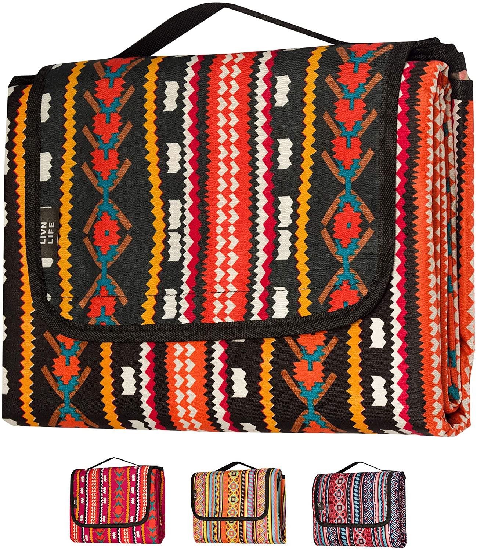 LIVN LIFE outdoor blanket, picnic blankets