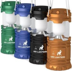 mallome lantern camping colors