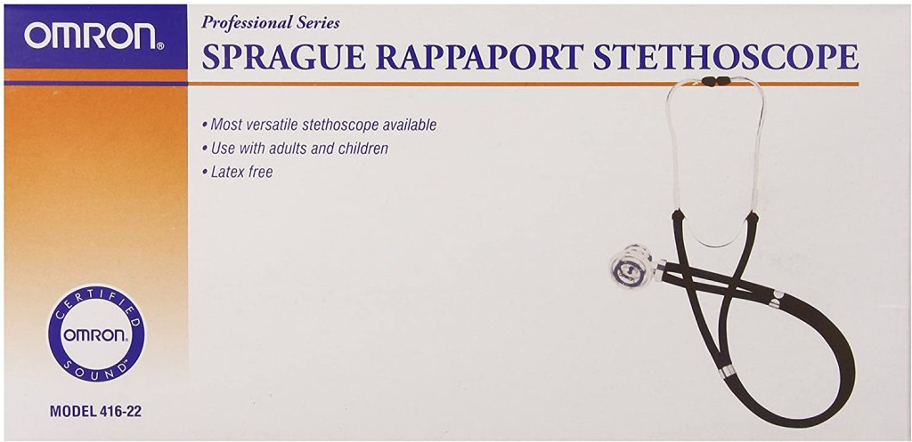 Omron Sprague Rappaport Stethoscope