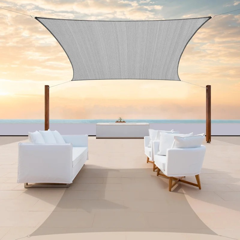 Rectangle Shade Sail by Color Tree