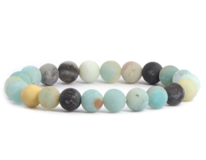 Justinstones 8mm Round Beads Stretch Bracele