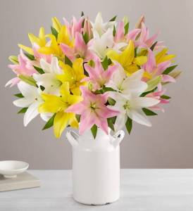mothers day gifts from son sweet spring lillies