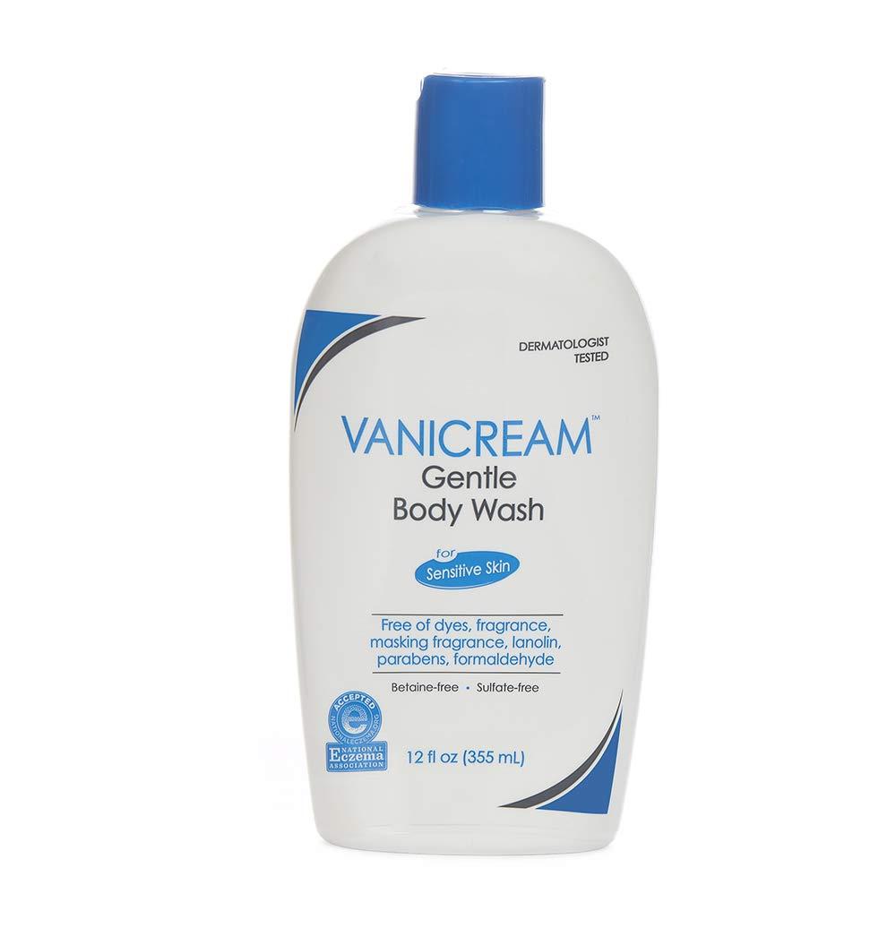 Vanicream Gentle Body Wash; best body wash for sensitive skin