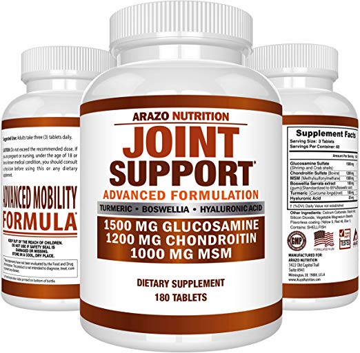 arazo nutrition glucosamine supplement
