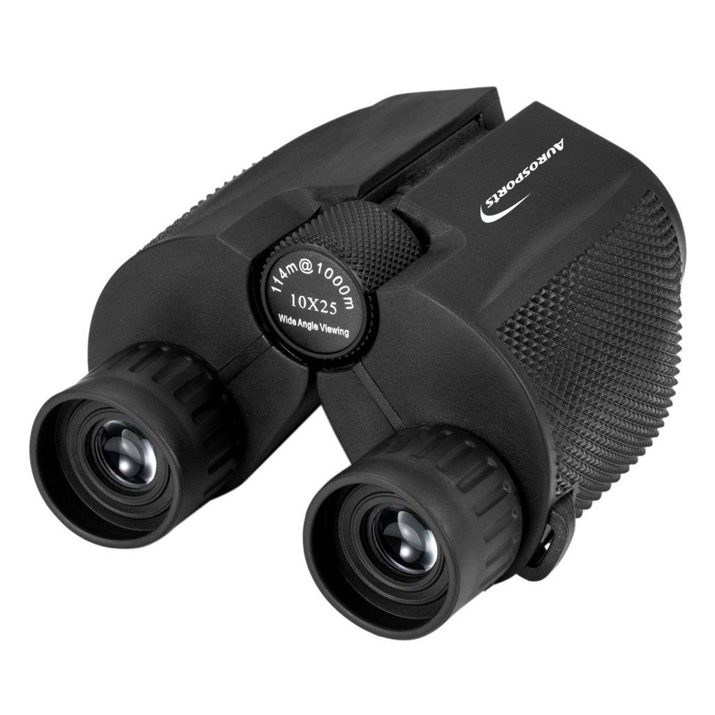 Aurosports 10x25 Folding High Powered Binoculars