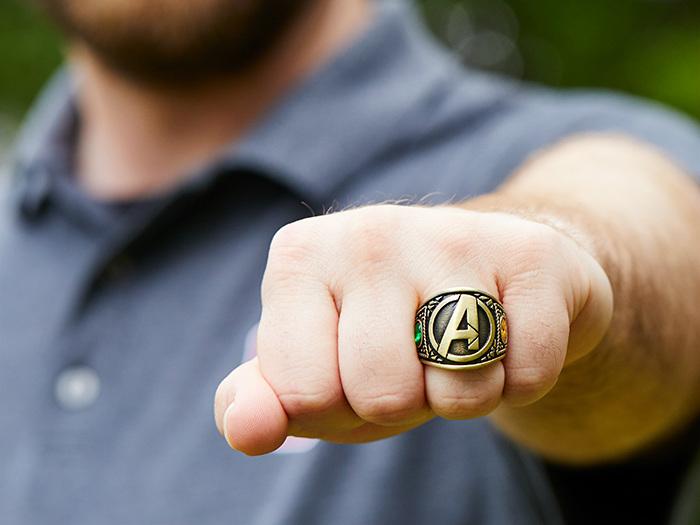 Best Avengers Merchandise: Marvel Endgame Ring