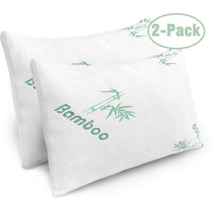 best pillows of 2020 - PLX Cooling Shredded Memory Foam Bamboo Pillows
