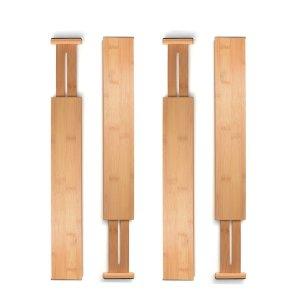 best kitchen organizer drawer dividers bamboo