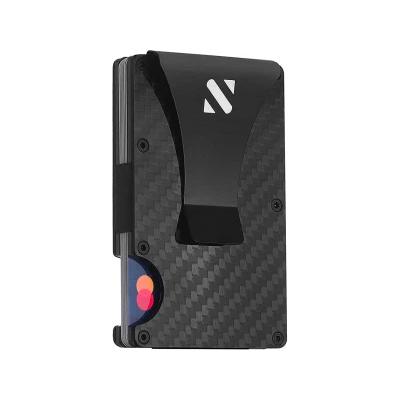 SHEVROV RFID Carbon Fiber Wallet for Men