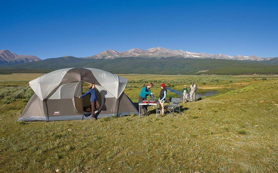 Best tents featured image coleman