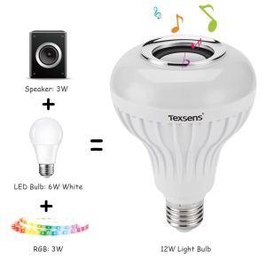 bluetooth light bulb speaker texsens