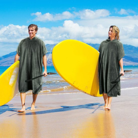 Catalonia beach surf poncho