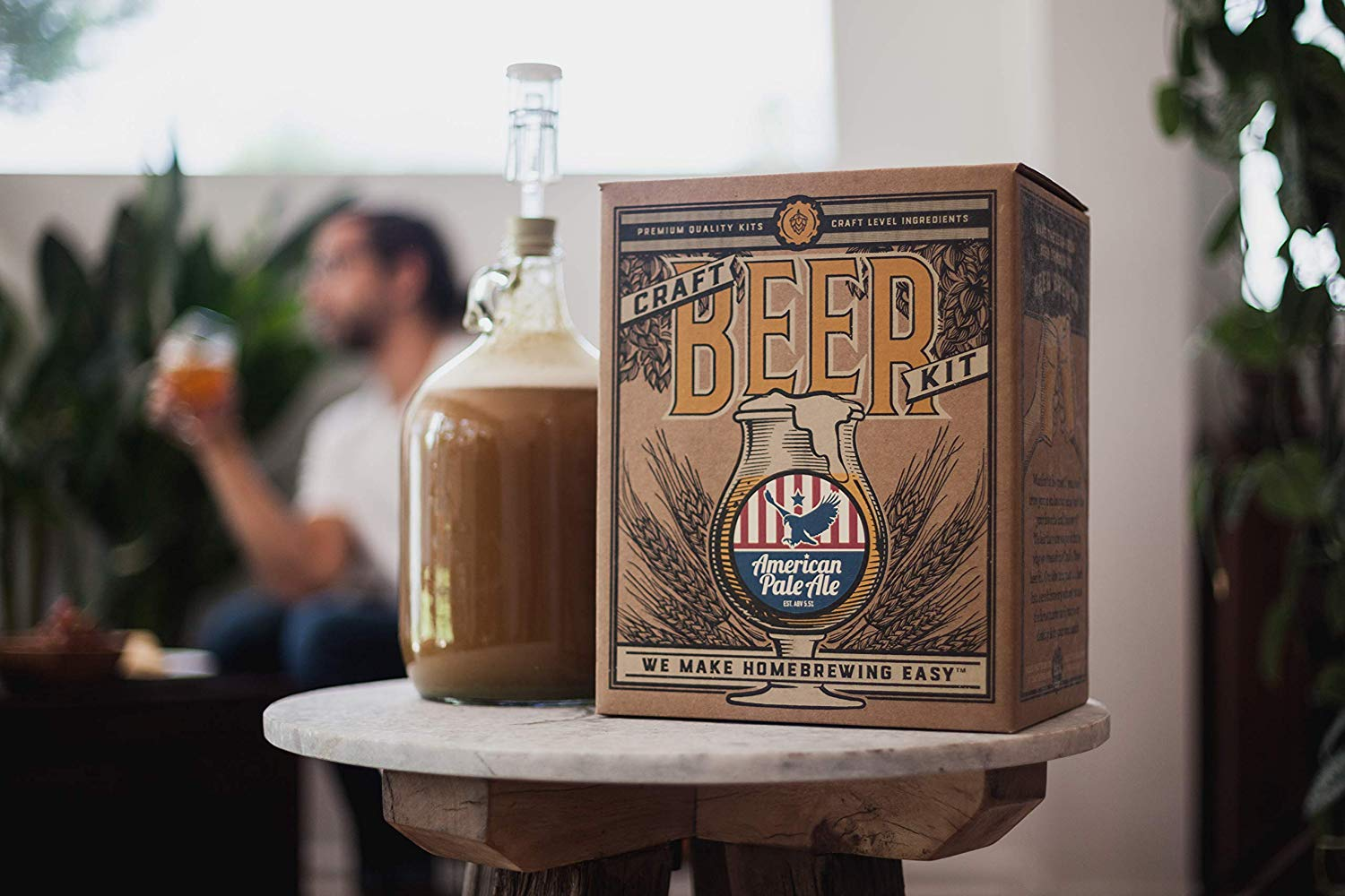 Craft-a-Brew home brewing kit
